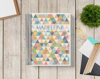 NEW DESIGN! Custom Planner 2020-2021 -- Golden Triangles