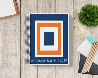Custom Planner 2020-2021 -- COLOR BLOCK, you choose COLORS