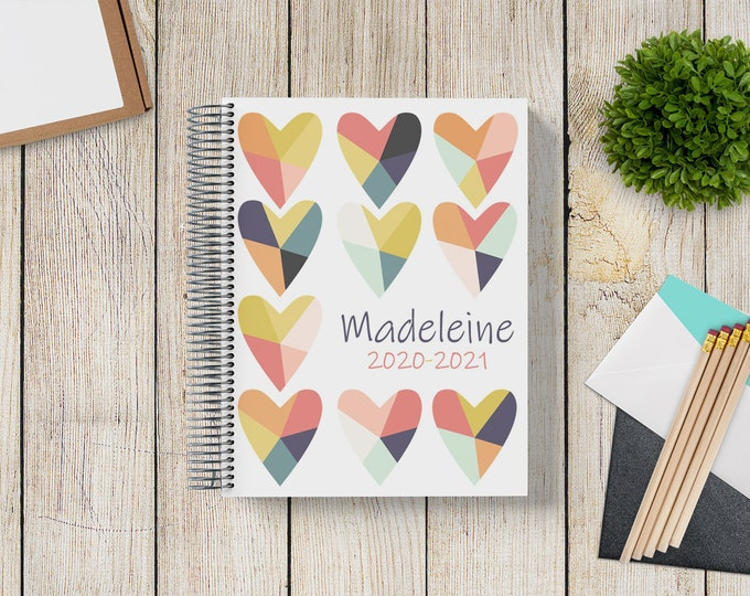 2021-2022 Custom MONTHLY Planner -- Mended Hearts