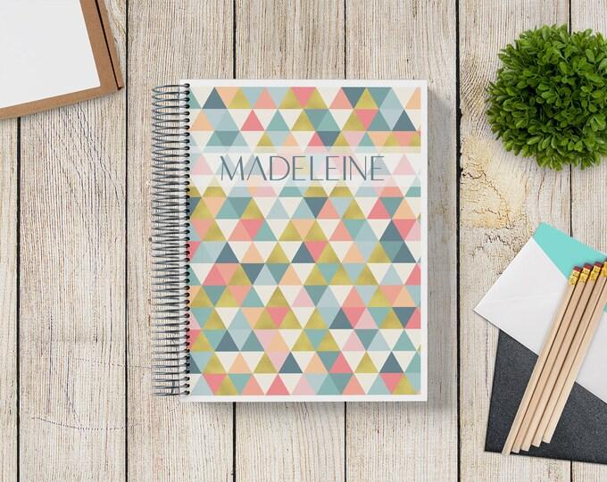 2021-2022 Custom Monthly-Weekly Planner -- Golden Triangles