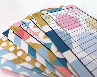 NEW!! Money Envelope Wallet | Cash Envelope System | Money Envelope Book -- Touch of Gold