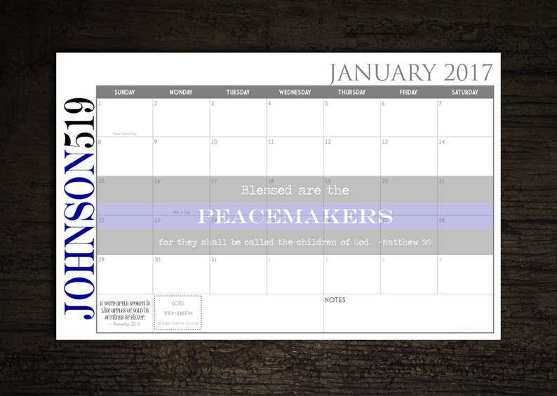 2021 Custom Desk Calendar Desk Pad Blotter Calendar  Thin image 0