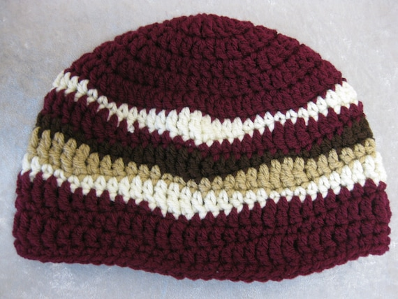 Bacon Beanie - crocheted - Made to Order 8ae6a103693