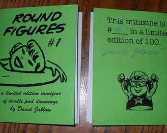 The do it yourself doodler book etsy round figures 1 by david jablow doodle pad minizine solutioingenieria Gallery