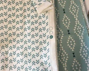 1 new charm pack Nomad and 2 yards of fabric