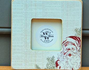 Santa Christmas Picture Frame