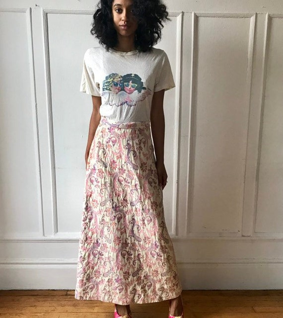 LANVIN Pink Maxi Skirt
