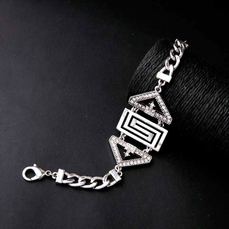 Vashdi Statement necklace Gemstone necklace Boho necklace Statement jewelry set