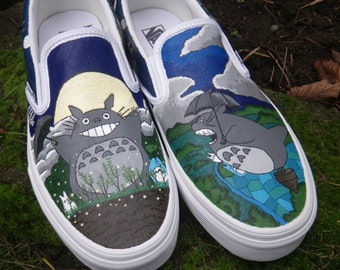 S.T.E.P. Hand Painted Shoes