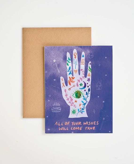 Tarot Cards Birthday Wishes Palm Reading Birthday Gifts