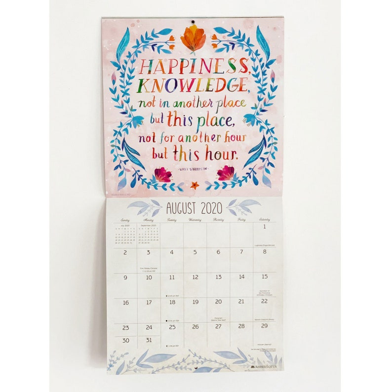 Uf Calendar 2020.Make Your Own Magic Year 2020 Calendar