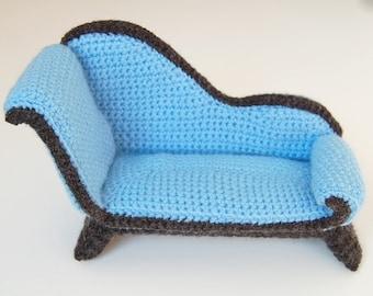 crochet pattern - chaise longue