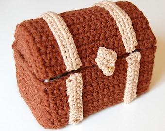 amigurumi pattern - toy chest