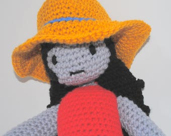 Marceline the Vampire Queen inspired amigurumi: Adventure time