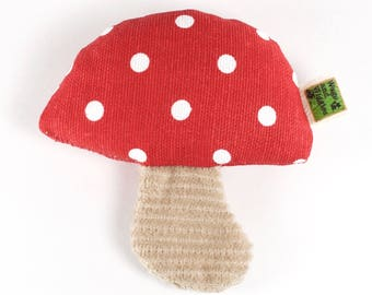 Catnip Cat Toy Toadstool