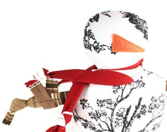 Dog Toy Snowman Extra Durable