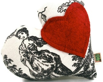 """Extra Durable Dog Toy Valentine All My Heart - """"DOUBLE FABRIC LAYER Construction"""""""