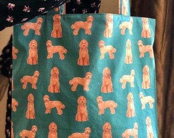 Labradoodle Bag, Labradoodle Tote, Dog Bag, Dog Tote, Doodle Bag, Muenster