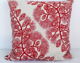 Pohutukawa Flower cushion cover