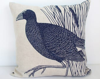 Pukeko Cushion cover.