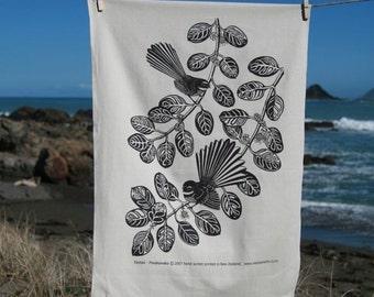 Fantail Tea towel