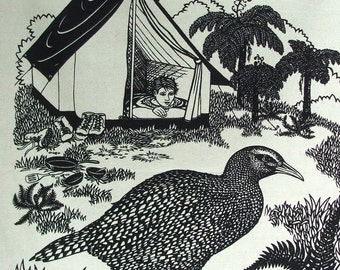 Weka tea towel