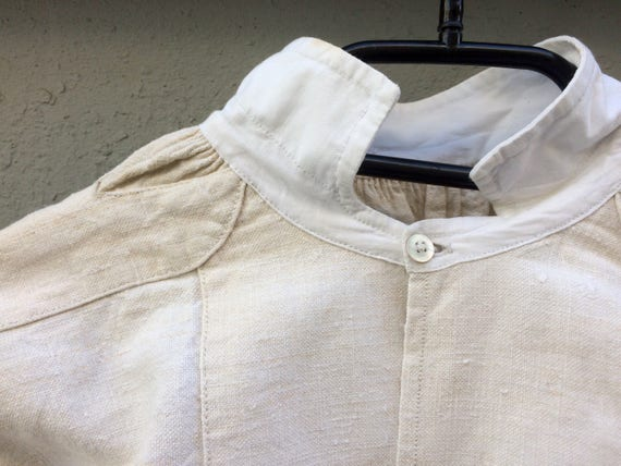 Antique linen shirt