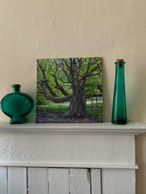 Sturdy Tree Digital Print of Original Oil Painting