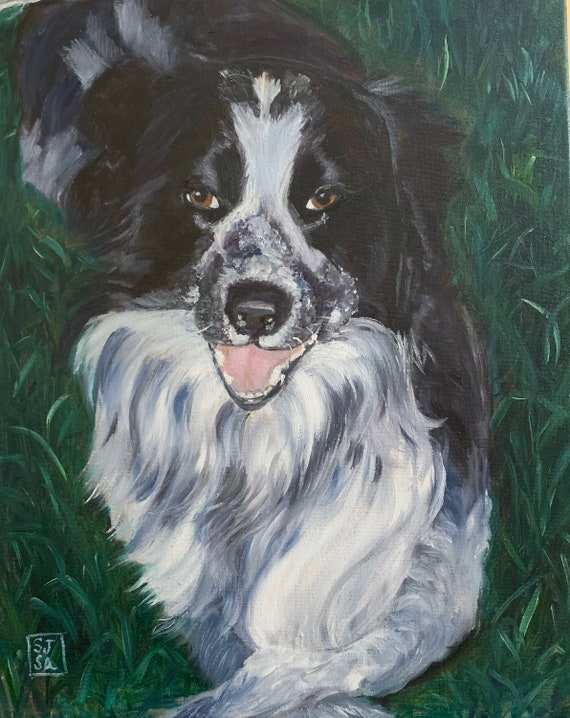 Custom Portrait of Your Pet in Oils