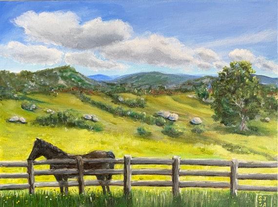 Virginia Horse Print