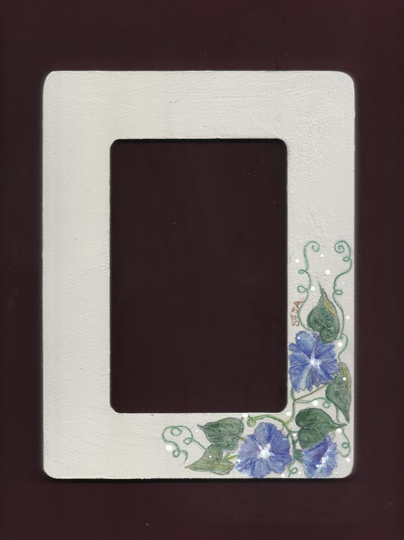 Morning Glories Art Frame