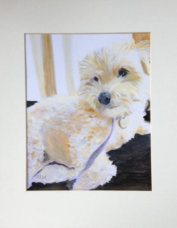 Gift Certificates: Custom Pet Portraits (with shipping included)