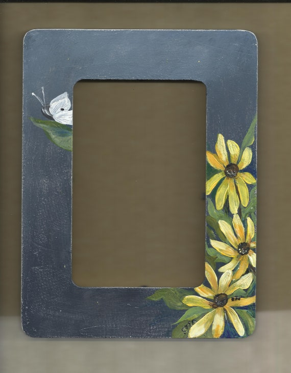 Art Frame With Blackeyed Susans