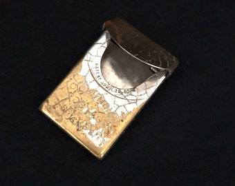 Beautiful Jade Green Stone Intaglio Warrior Hunter Wolf Rolling Stamp Seal Tube Bead BCA81