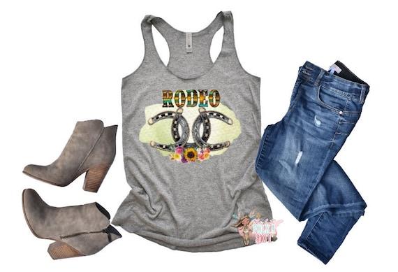 baa9cb71 Serape Rodeo Shirt Horse Shoe Shirt Cowgirl Shirt Rodeo | Etsy