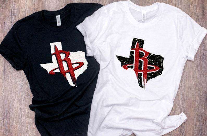 promo code 07c58 b85d8 Houston Rockets TEXAS Shirt, Rockets Basketball Shirt, Houston Rockets,  Adult or Youth Rockets Shirt, Houston Rockets Matching Family Shirts