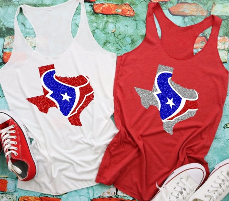 369353c2 Houston TEXANS Logo Texas Shirt, Texans Shirt or Tank, Ladies Cute Texans  Shirts, Choose Color and Style, Womens football Shirt or Tank