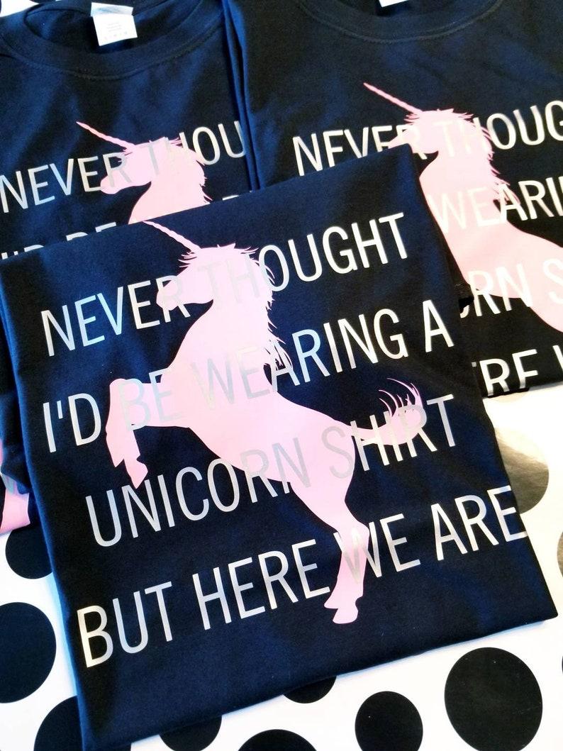 27c25bce Unicorn Dad Shirt Men's Unicorn Shirt YOU Design | Etsy