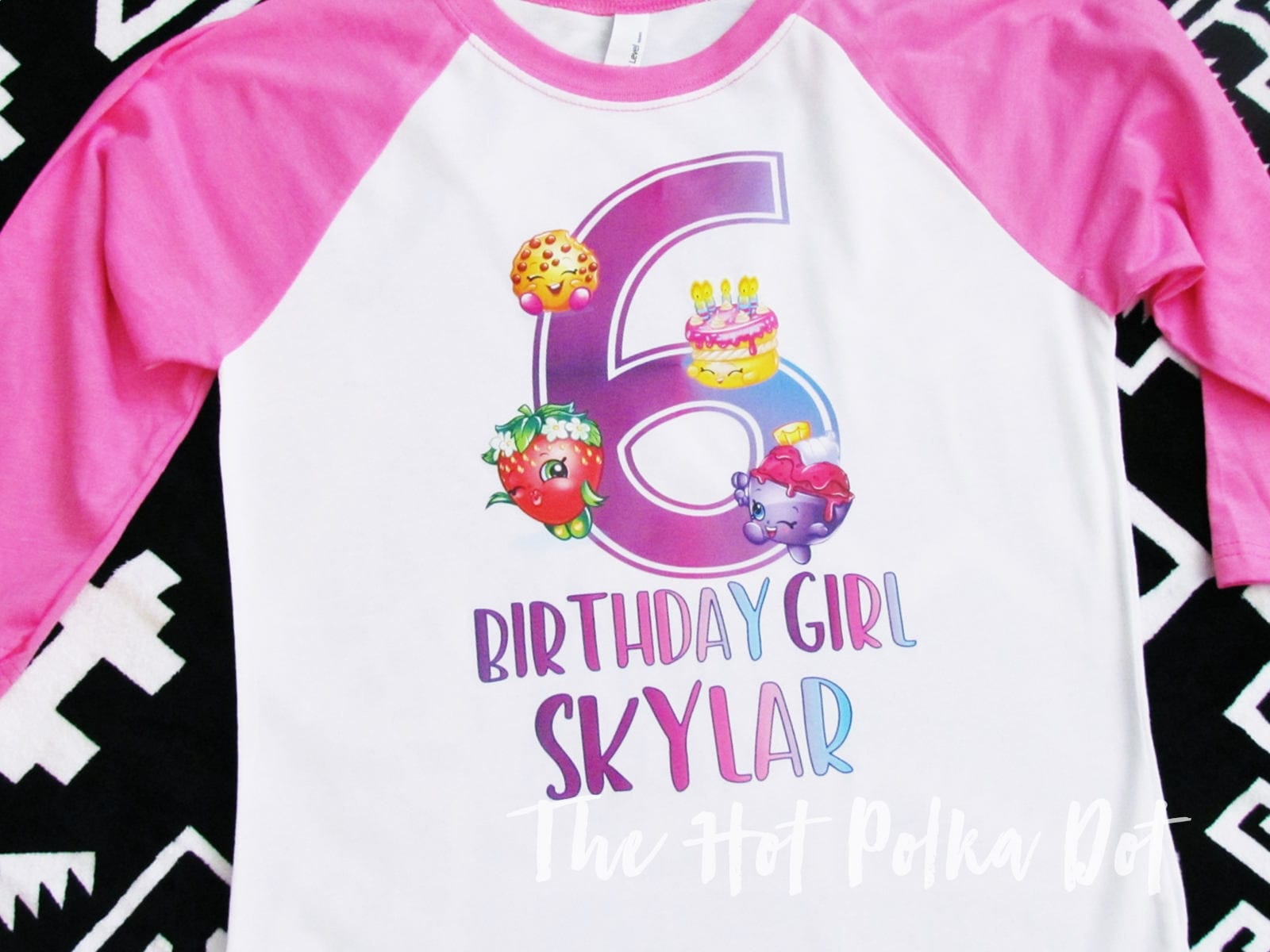 Shopkins Birthday Girl Shirt Custom Age Shirts