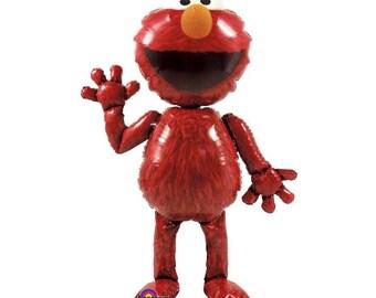 Elmo 1st Birthday 18 Foil Balloon 1st Birthday Elmo Etsy