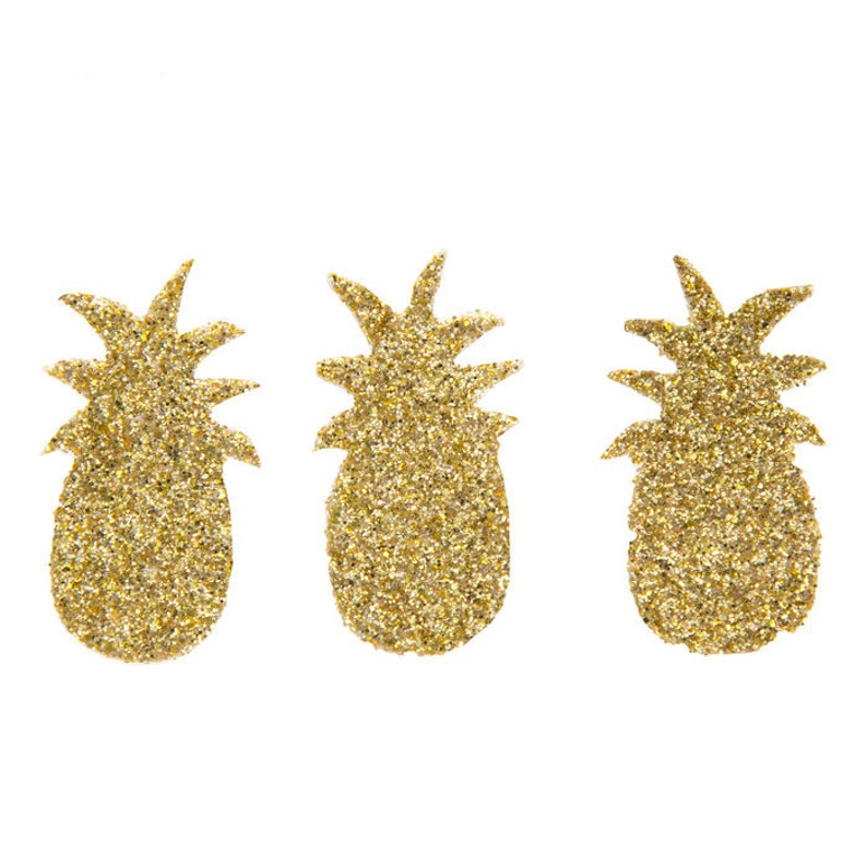 Confetti Balloon Filler Pineapple Confetti Confetti Popper Pineapple Confetti Glitter Confetti Gold Glitter Decor Summer Confetti