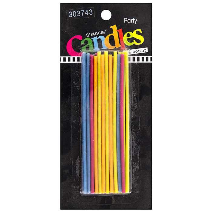 Sparkler Birthday Candles 25 Pack Cake Tall