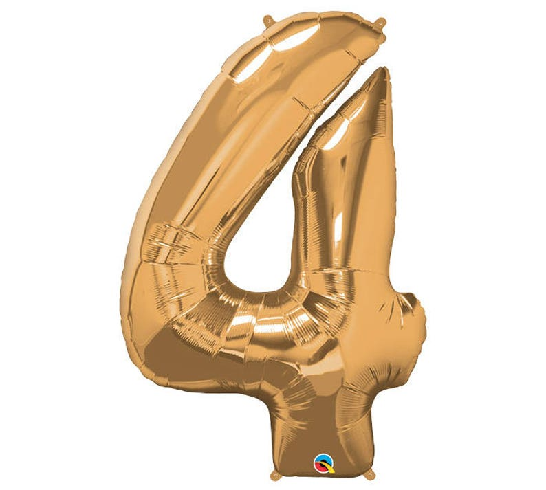 Birthday Decor Adult Birthday Party Decor Number Balloons Gold Birthday Banner 34 Metallic Gold Number Birthday Foil Balloon