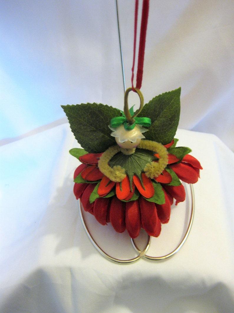 Flower Fairy Handmade Ornament 3 12 Mum