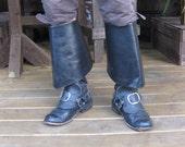 17th Century Leather Buck...