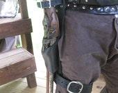 Leather Flintlock Leg Holster