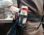 Leather Drink Holster for...