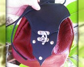 Red and Black Leather Pir...