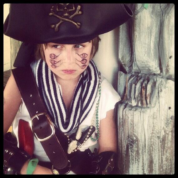 Baldric Adult Pirate Costume Bandolier Belt Halloween Fancy Dress