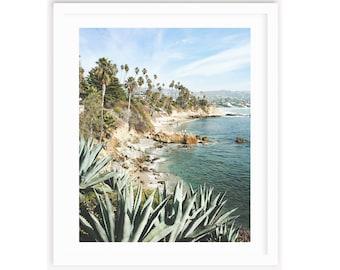 Laguna Beach Print, California Beach house, Large Beach Print, Beach Wall Art, Coastal Print, Coastal Wall Art, Laguna Beach Wall Art